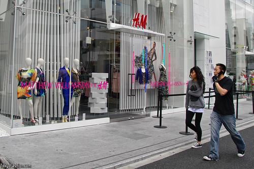 H&M Harajuku x Matthew Williamson