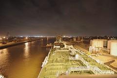 Night Run II, 1st Half (OneEighteen) Tags: night port harbor timelapse video marine ship houston maritime nautical pilot channel houstonshipchannel nightrun