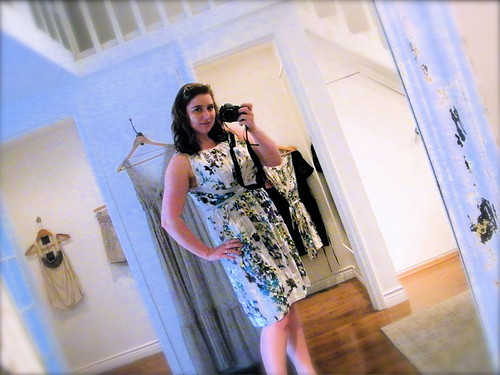 Monoplaza Dress - Standard Fitting Room Shot