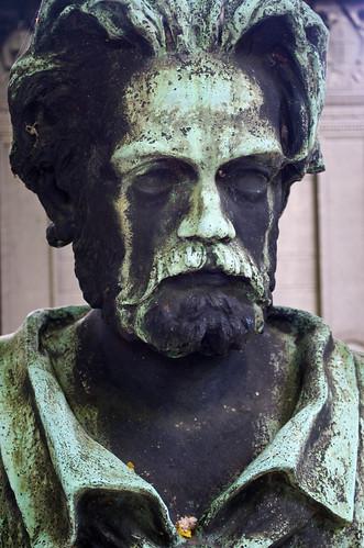 Emile Zola, Montmartre Cemetary, Paris