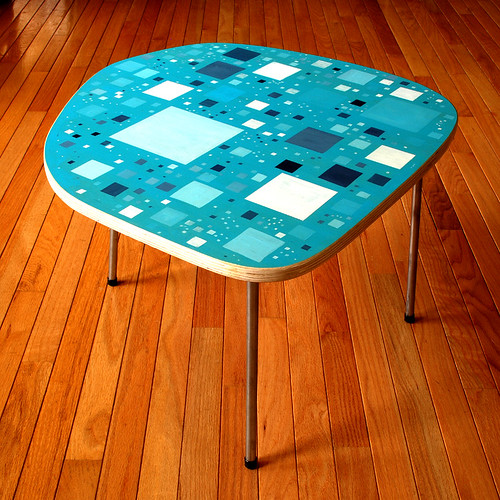 Squares Table