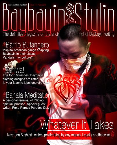 Faux Baybayin Magazine