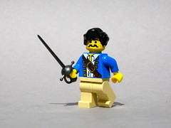 Errol Flynn (Dunechaser) Tags: lego minifig minifigs custom accessory brickarms