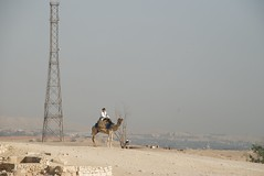 Tourist police on camel (future15pic) Tags: africa travel vacation history sphinx museum architecture temple ancient rocks desert may egypt cairo camel massive egyptian pyramids archeology 2009 giza khufu pharoh menkaure kharfre