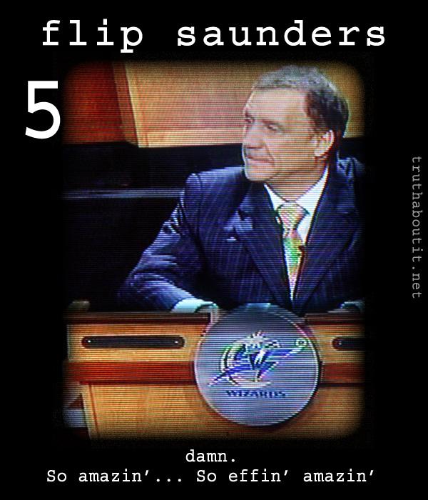 Flip Saunder's Amazed Lottery Face