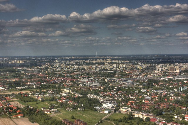 Warsaw from Above
