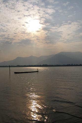 152.Don Daeng島上湄公河的日落 (5)