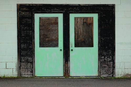 Teal Doors