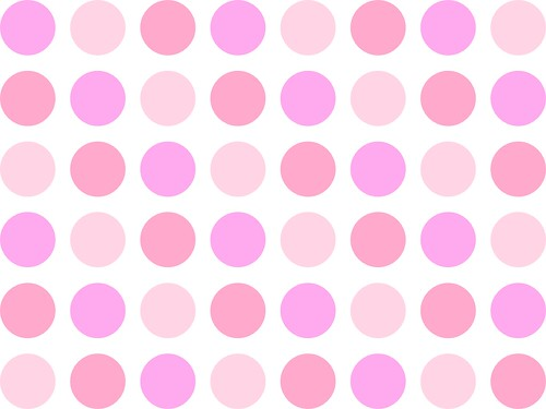 Image for desktop wallpaper or background etc - girly pink dots