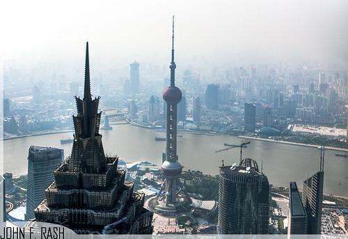 Pudong Skyline (the Bund), Shanghai, China