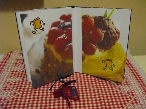 Cookbookcrossing gamering - back inner cover