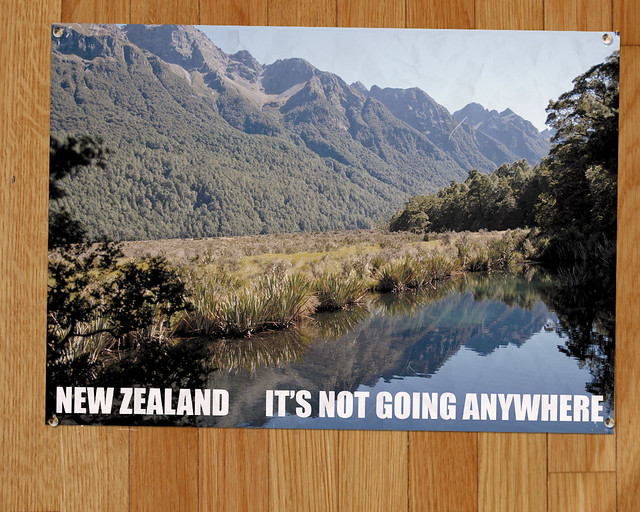 New Zealand: It's Not Going Anywhere