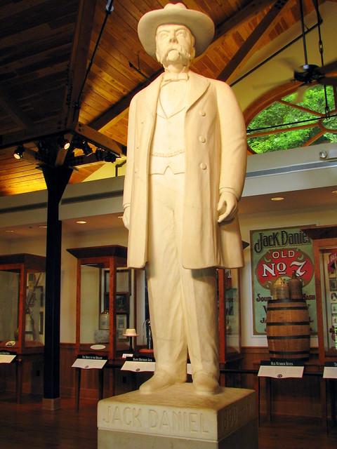 The Original Jack Daniels Statue