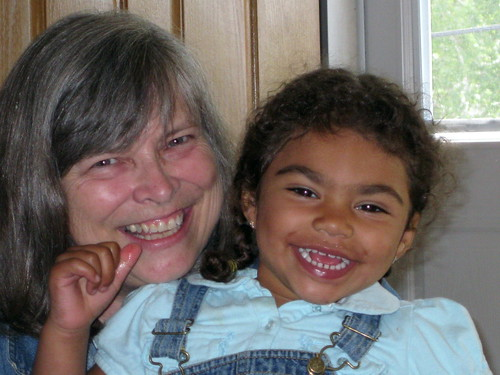 Grammy and Jayden (age 3)