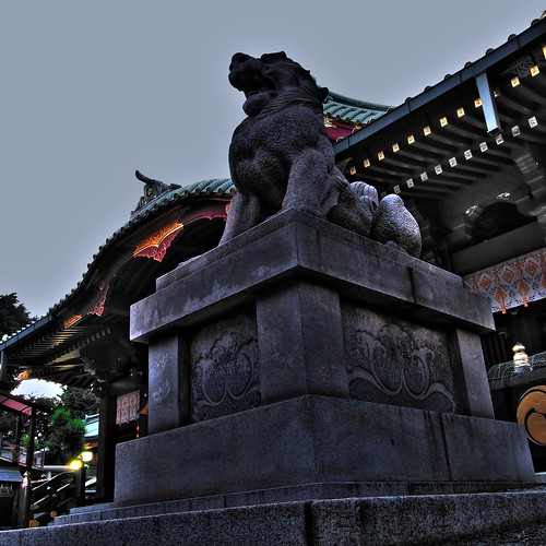 Komainu in Kandamyoujin