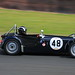Stephen Garrett and James Baxter, Lotus 7Si at Oulton Park 09