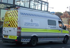 Lincolnshire Police Operational Support Unit FX07 JHZ (NottsEmergency) Tags: support police lincolnshire unit operational
