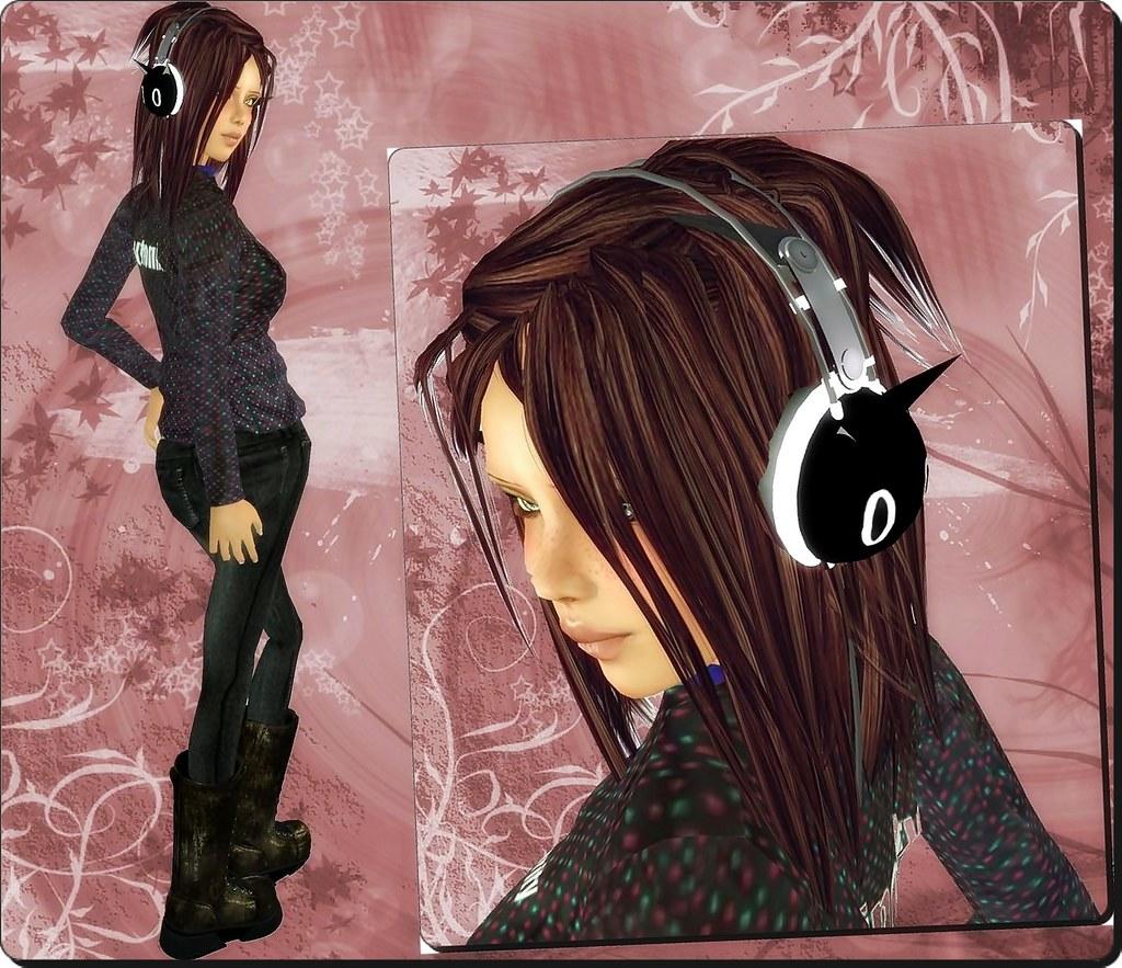PICPIC.headphones hehe