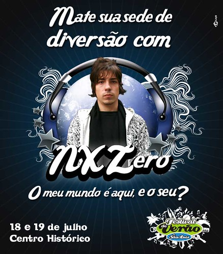 TOME NX ZERO por Central de Eventos & Marafolia X5.