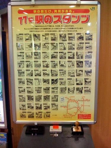 coleccion sellos estaciones