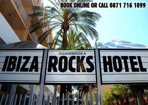 Benvenidos a Ibiza rocks Hotel