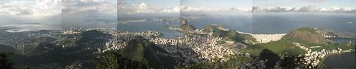 Rio de Janeiro seen from Corcovado