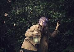 (Savina Gost) Tags: light lamp mask dream surreal lantern oniric lmpara mscara antifaz recuerdoazul savinagost onrica