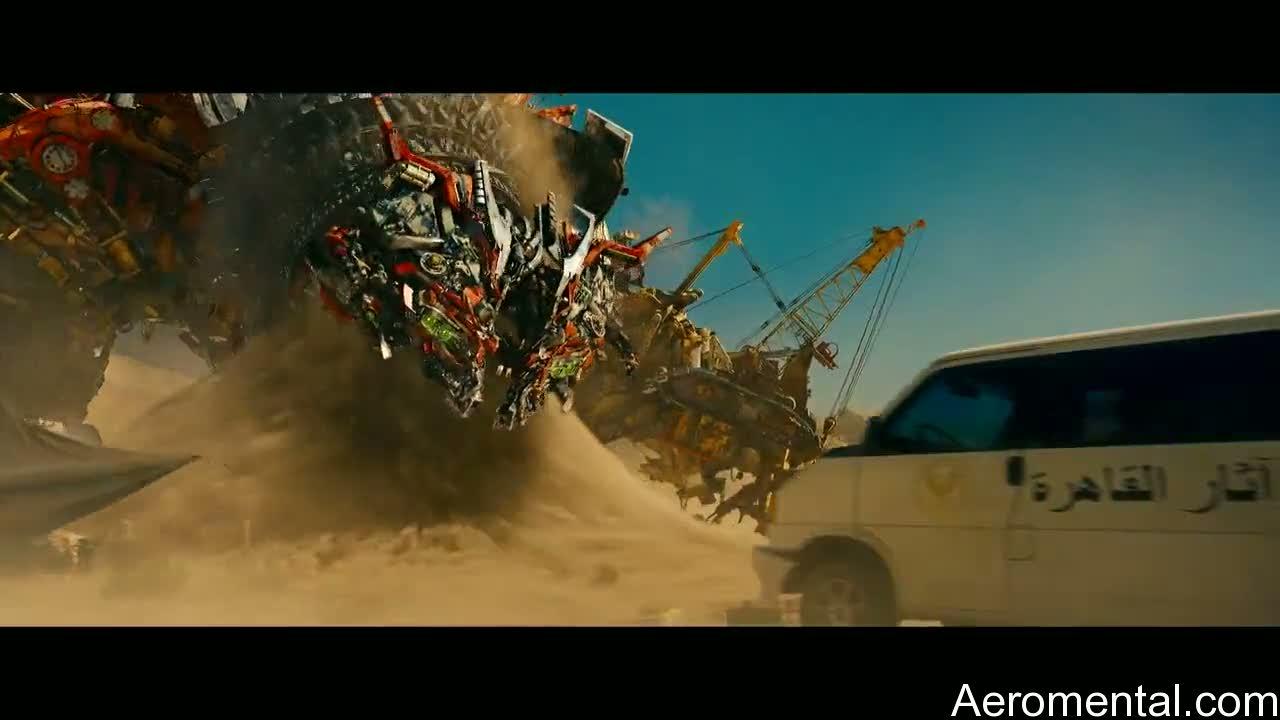 Transformers 2 Devastator traga arena