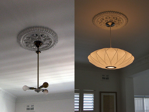 George Nelson Lighting. Bedroom Before And After. George Nelson Lighting