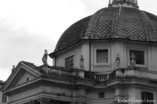 Piazza del Popolo - Santa Maria in Montesanto