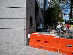 2009, West St (CORNERSTONES of NY) Tags: nyc newyorkcity people orange newyork mms manhattan picture photograph 2009 batteryparkcity deathstar curbed cornerstone 2000s goldmansachs cornerstones cornerstonesnewyork cornerstonesny 200weststreet