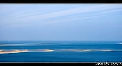 Vue sur le bassin d'Arcachon depuis la dune du Pilat (_andreesc) Tags: france dune duna francia arcachon bassin atlantico pyla atlantique océan océano pilat aquitaine aquitania