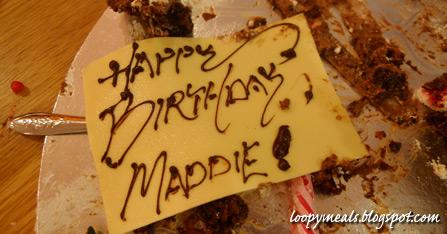 Maddie's Leftover Cake