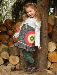 Tunika und Leggins (Marion-Mallofaktur) Tags: grau nala leni kleid leggins farbenmix tunika
