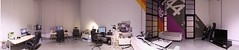Room #1 full (Official Classic) Tags: panorama color wall studio office hungary view pano budapest decoration 360 retro numbers helvetica postproduction branding gyr officialclassic