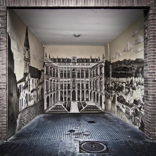 167/365 Acceso al garaje by Juan R. Velasco