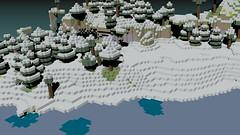 Minecraft World (MrMacNoobster) Tags: 3d blender minecraft mcobj