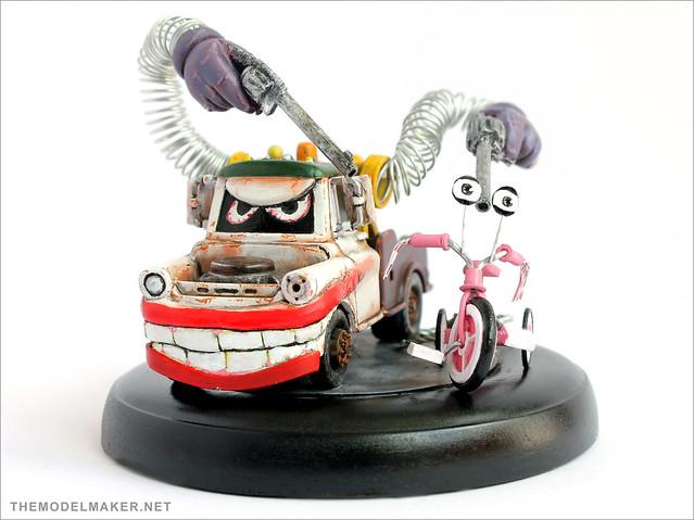 Pixar Cars Joker Mater 3