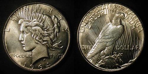 1964-D Peace Dollar