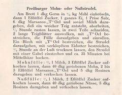 Marsano's Ölkochbuch: Pressburger Mohnstrudel