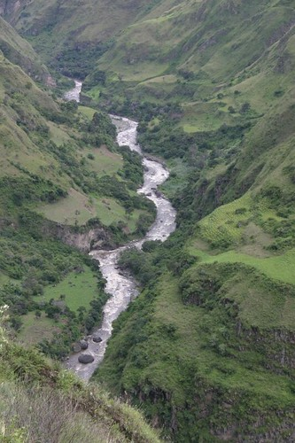Stunning mountain scenes just north of Ipiales, Colombia.