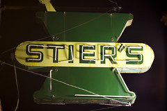 Stiers (Thomas Hawk) Tags: california usa america neon unitedstates unitedstatesofamerica pharmacy eastbay alameda stiers
