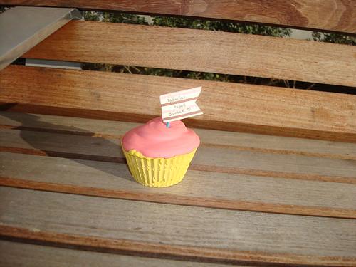 Park Bench cake