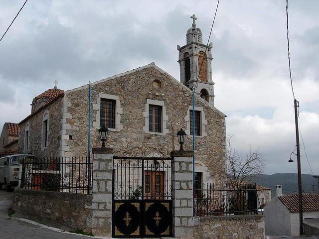 Πελοπόννησος - Λακωνία - Δήμος Γερoνθρών Κεντρικός ναός Γερακίου