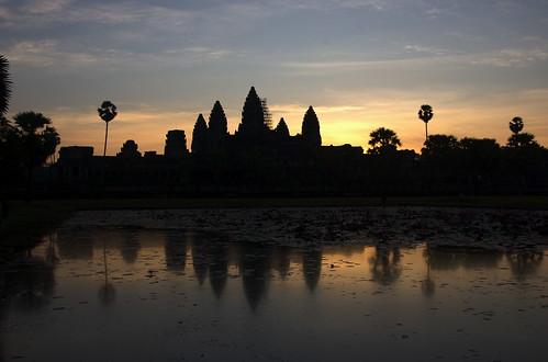 angkor wat sunrise photo-op