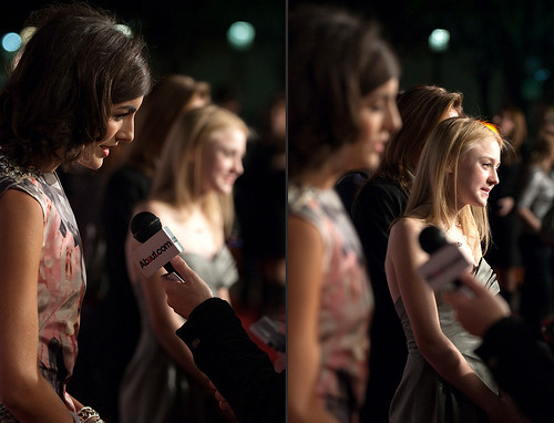 dakota fanning camilla belle interview push premiere