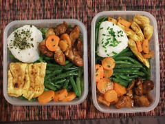 Bento Challenge week 4 - my (and his) bento . 5