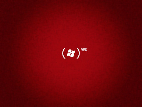 red wallpaper. Vista Red Simple