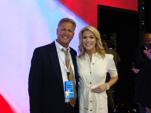 Bill with Fox News Megan Kelly