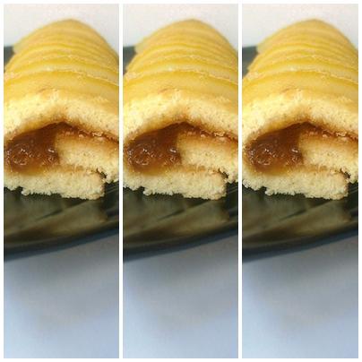 Tris rotoli con marmellata di bergamotto